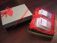 Lovey Dovey Gift Box Large - Silver/Black
