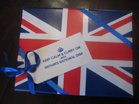 Union Jack Gift Box Large - Red/White/Blue