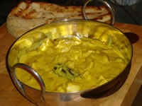 korma- curry